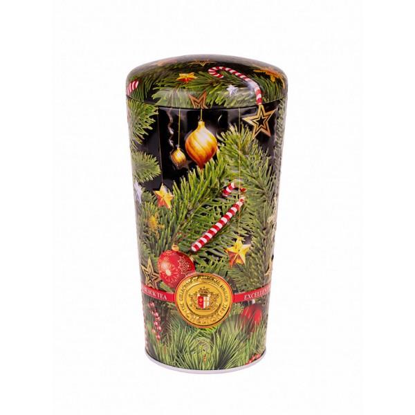 Английский чай «С Рождеством», 100г., Жестяная банка