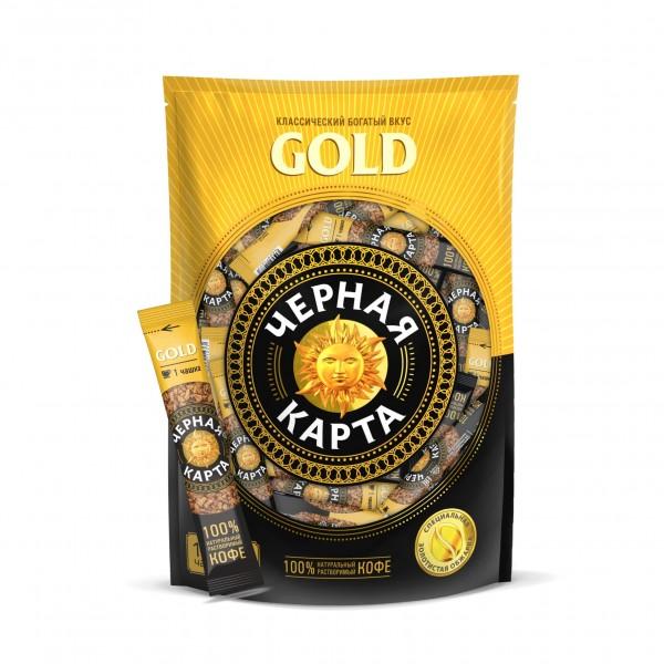 Кофе Черная Карта GOLD, 2г*100 пак.
