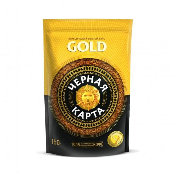 Кофе Черная Карта GOLD, 75 г. зип пакет