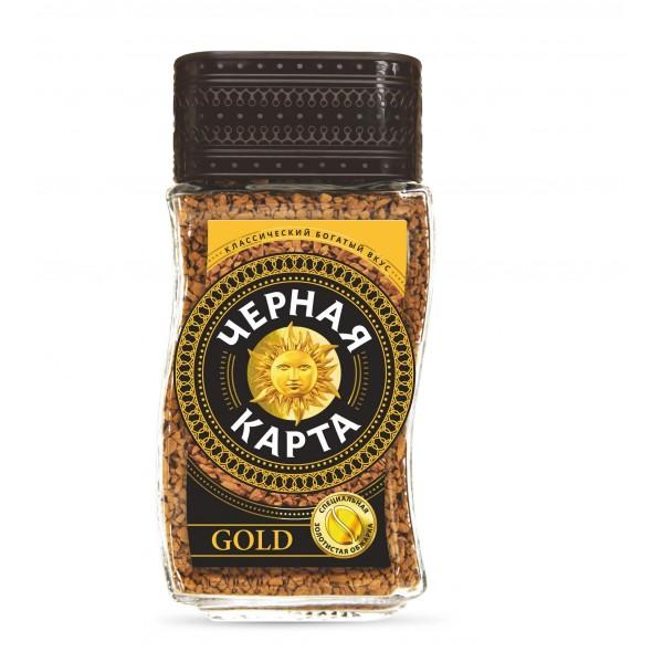 Кофе Черная Карта GOLD, 95 г. ст/б.