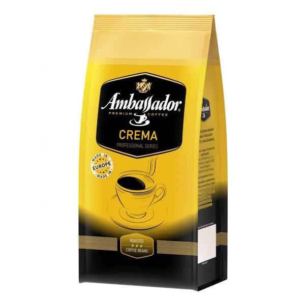 Кофе Ambassador Crema, зерно, 1000г.