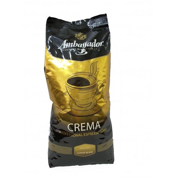 Кофе в зернах  Ambassador Crema, 1кг.