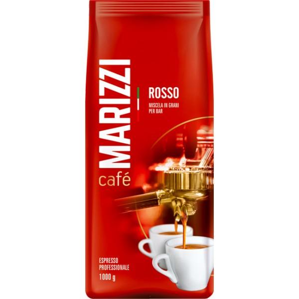 Кофе MARIZZI ROSSO, зерно 1000гр.