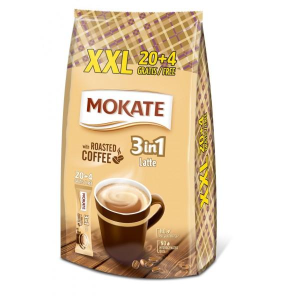 МОКАТЕ 3в1, Latte, 17г*24 шт.