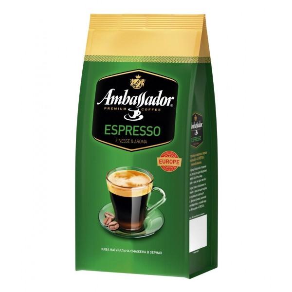 Кофе Ambassador Espresso, зерно, 1000г.