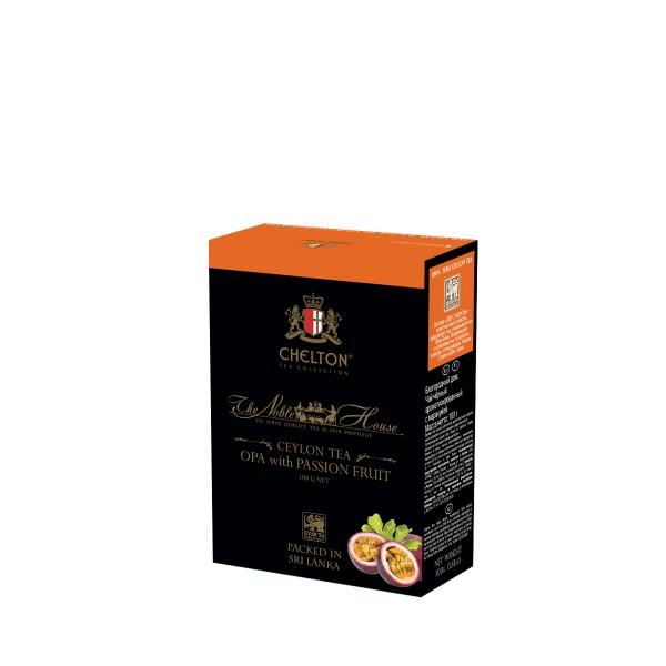 """Благородный дом 100 гр черный крупнолистовой чай (OPA) """"Citrus Mix""""."""