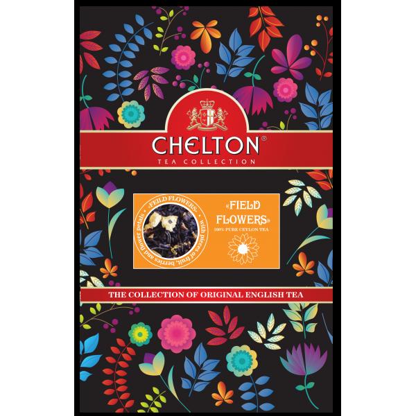 Английский чай «Полевые цветы», 90г., зип пакет.