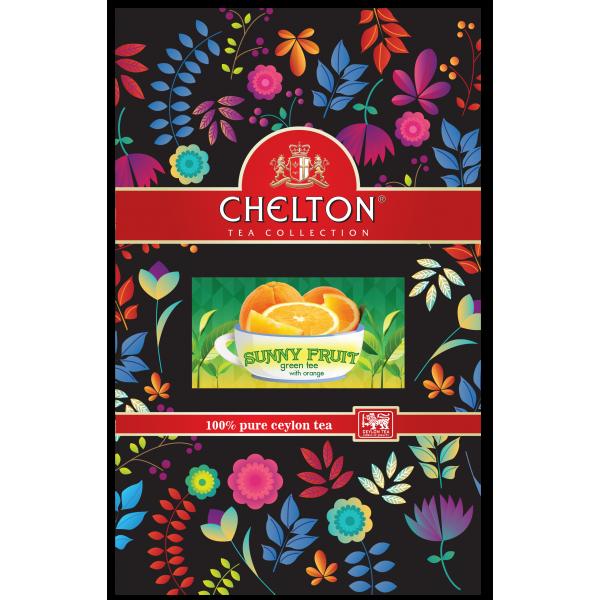 Английский чай «Солнечный Фрукт», 90г., зип пакет.