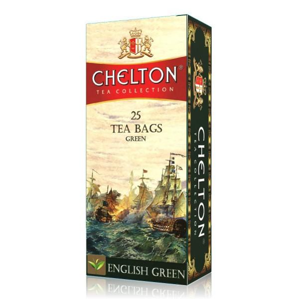 Английский Зеленый чай 25пак.