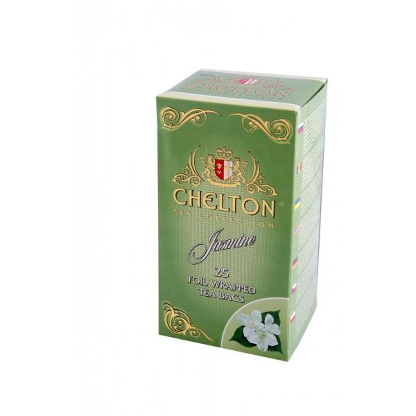 Английский Черный чай Chelton Premium 25пак. малина с мятой